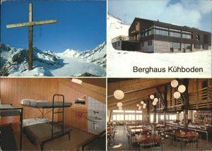 Fiesch Restaurant Berghaus Kuehboden Details Gipfelkreuz Kat. Fiesch