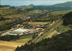 Eglisau Panorama mit Mineralquelle Kat. Eglisau