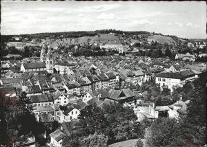 Winterthur Blick vom Heiligberg Kirche Kat. Winterthur