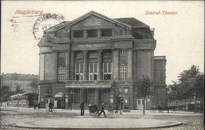 Magdeburg Zentral Theater  / Magdeburg /Magdeburg Stadtkreis