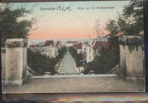 Eberswalde Blick auf Moltkestrasse Kat. Eberswalde