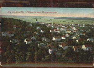 Bad Freienwalde Panoramablick vom Kriegerdenkmal Kat. Bad Freienwalde