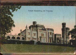 Potsdam Schloss Babelsberg / Potsdam /Potsdam Stadtkreis