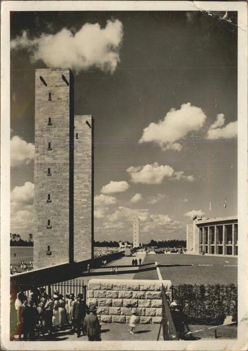 Berlin Reichssportfeld Kat. Berlin