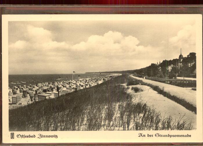 Zinnowitz Ostseebad Usedom Strandpromenade Kat. Zinnowitz