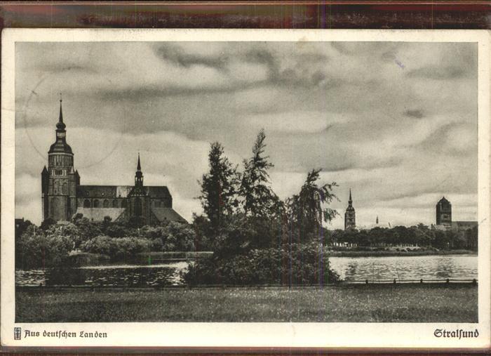 Stralsund Mecklenburg Vorpommern deutschen Landen Kat. Stralsund