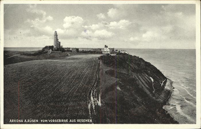 Arkona Ruegen Vorgebirge Kap Leuchtturm Kat. Putgarten