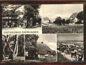 Dierhagen Ostseebad Strand Kat. Dierhagen Ostseebad