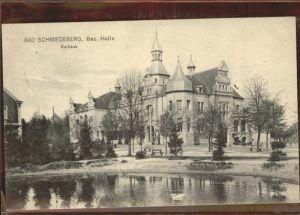 Bad Schmiedeberg Kurhaus Schwanenteich Kat. Bad Schmiedeberg