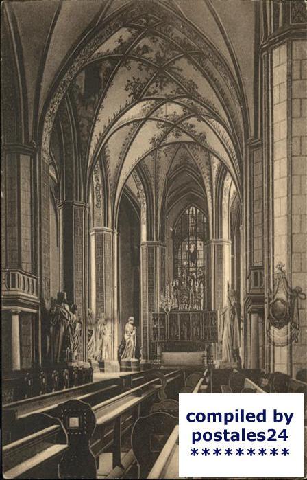 Brandenburg Havel Inneres der Katharinenkirche Kat. Brandenburg
