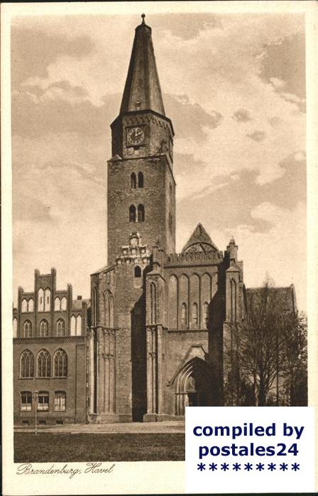 Brandenburg Havel Dom Kat. Brandenburg
