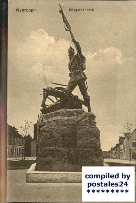 Neuruppin Kriegerdenkmal Kat. Neuruppin