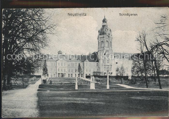 Neustrelitz Schlossgarten Kat. Neustrelitz