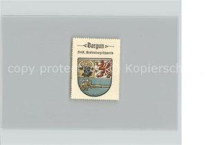 Dargun Mecklenburg Vorpommern Werbemarke Wappen Kat. Dargun