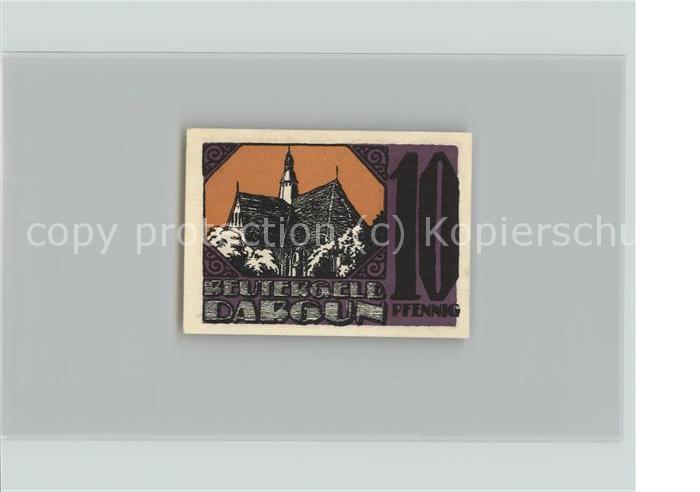 notgeld dargun 1921 50 pfennig kirche und stadttor hirsch nr 7652739 oldthing. Black Bedroom Furniture Sets. Home Design Ideas