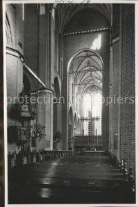 Wismar Mecklenburg Vorpommern St. Georgenkirche innen / Wismar /Wismar Stadtkreis
