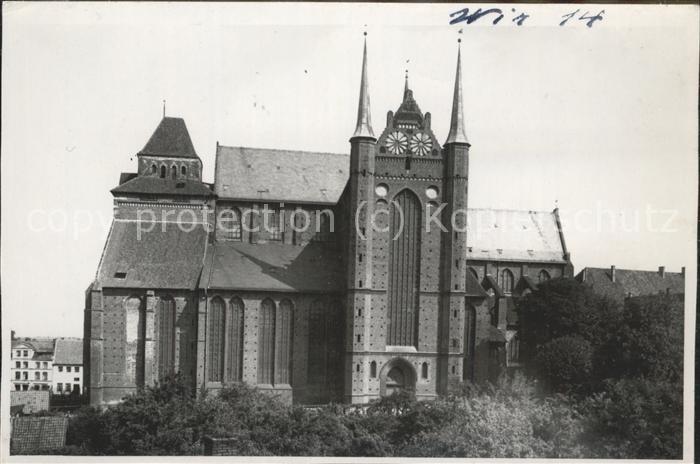 Wismar Mecklenburg Vorpommern St. Georgenkirche / Wismar /Wismar Stadtkreis 0