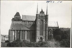 Wismar Mecklenburg Vorpommern St. Georgenkirche / Wismar /Wismar Stadtkreis