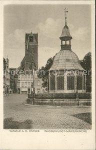 Wismar Mecklenburg Vorpommern Wasserkunst Marienkirche / Wismar /Wismar Stadtkreis