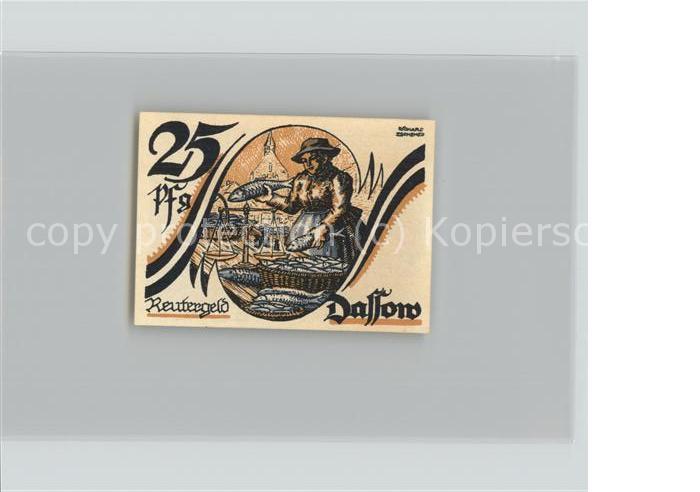 dassow reutergeld 25 pfennig gutschein kat dassow nr dg05131 oldthing ansichtskarten. Black Bedroom Furniture Sets. Home Design Ideas