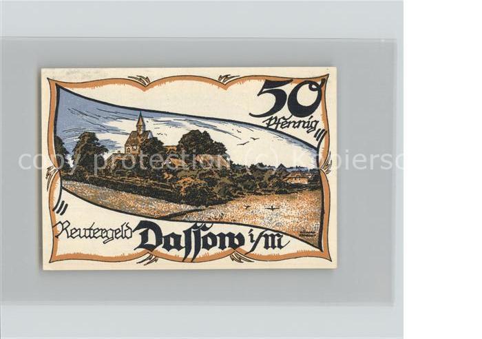 dassow notgeld 10 pfennig gutschein kat dassow nr dg05110 oldthing ansichtskarten. Black Bedroom Furniture Sets. Home Design Ideas