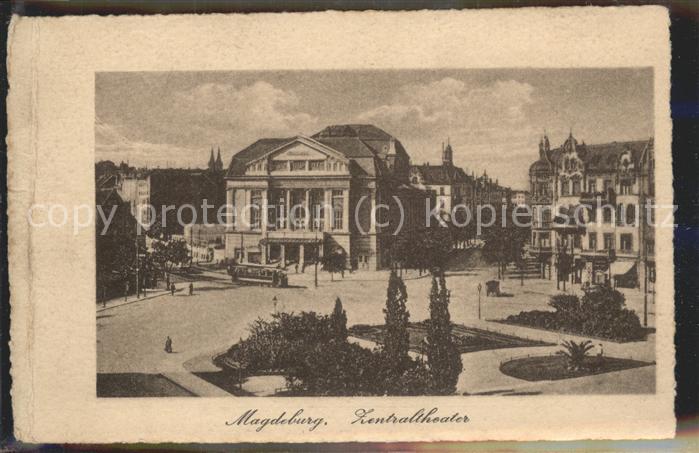 Magdeburg Zentral Theater Kat. Magdeburg