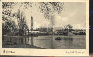 Magdeburg Adolf Mittag See Kat. Magdeburg