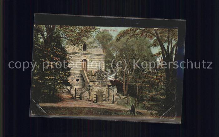 Halberstadt Jagdschloss auf den Spiegelsbergen Kat. Halberstadt