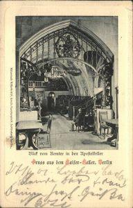 Berlin Apostelkeller Kaiserkeller Remter Kat. Berlin
