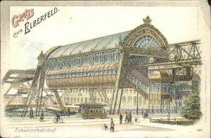 Elberfeld Wuppertal Schwebebahn Bahnhof / Wuppertal /Wuppertal Stadtkreis