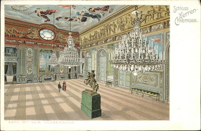 Chiemsee Schloss Herren Chiemsee Saal Mit Ochsenauge Kat. Chiemsee 0