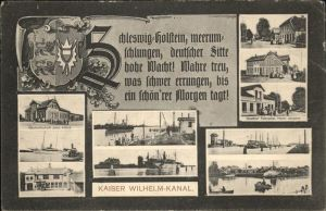 Schleswig Holstein Kaiser-Wilhelm-Kanal / Schleswig /Schleswig-Flensburg LKR