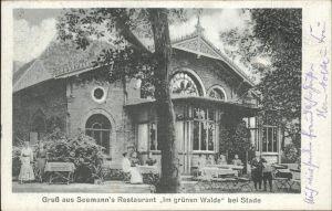 Stade Niederelbe Seemanns Restaurant Im gruenen Walde Terrasse / Stade /Stade LKR