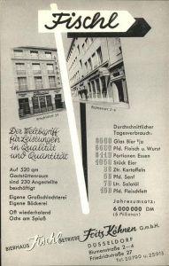 Duesseldorf Bierhaus Fischl Fritz Koehnen Kat. Duesseldorf