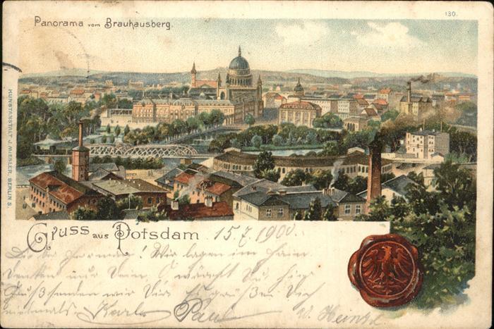 Potsdam Panorama  / Potsdam /Potsdam Stadtkreis