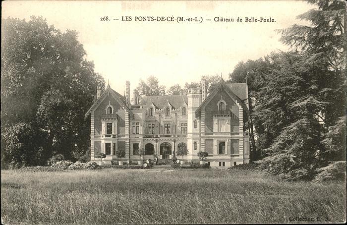 Les Ponts de Ce Chateau de Belle Poule Kat. Les Ponts de Ce
