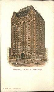 Chicago Illinois Masonic Temple Kat. Chicago