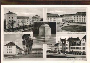 Darmstadt Kaserne Heidelbergerstr. Cambrai Kaserne Artillerie Denkmal Kat. Darmstadt