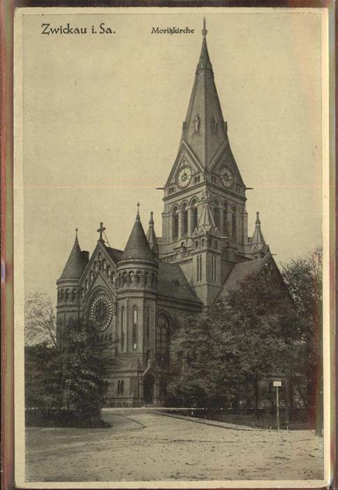 Zwickau Sachsen Moritzkirche Kat. Zwickau