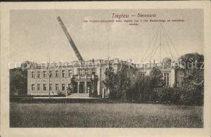 Sternwarte Urania Observatorium Treptow Fernrohr Kat. Gebaeude