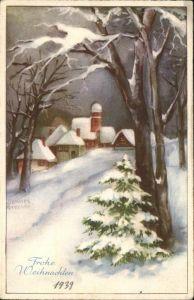 Petersen Hannes Weihnachten Serie 6057  Kat. Kuenstlerkarte