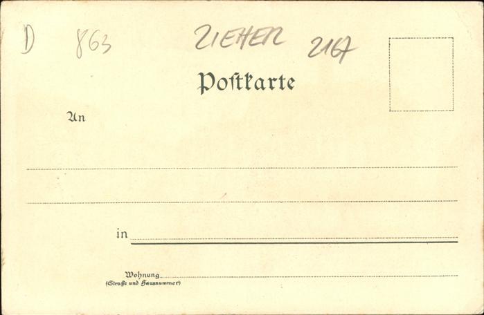 Verlag Zieher Ottmar Nr. 2167 Coburg Rathaus  Kat. Verlage 1