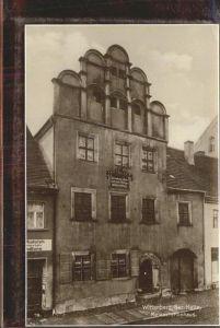 Wittenberg Lutherstadt Melanchthonhaus / Wittenberg /Wittenberg LKR