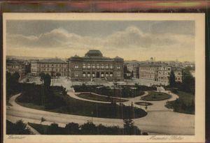 Weimar Thueringen Museum Platz / Weimar /Weimar Stadtkreis