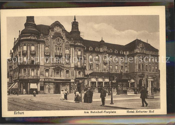 Hotel Erfurter Hof In Erfurt