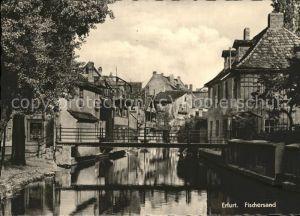 Erfurt Am Fischersand Bruecke Kat. Erfurt