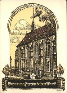 Wittenberg Lutherstadt Schlosskirche  / Wittenberg /Wittenberg LKR