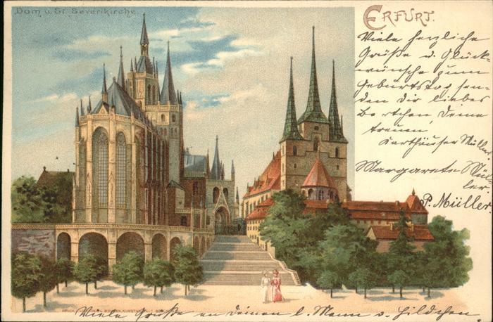 Erfurt Dom Severuskirche Kat. Erfurt