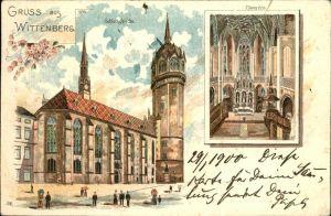 Wittenberg Lutherstadt Inneres Schlosskirche  / Wittenberg /Wittenberg LKR
