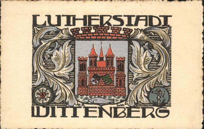 Wittenberg Lutherstadt Lutherstadt Wappen / Wittenberg /Wittenberg LKR